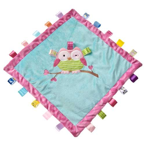 Mary Meyer Taggies Oodles Owl Cozy Blanket - 1