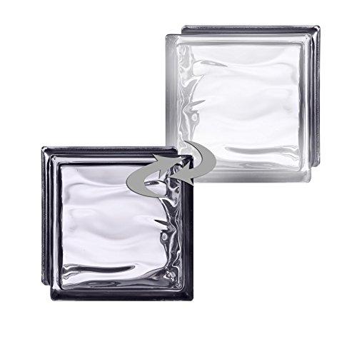 6-piezas-bm-bloques-de-vidrio-agua-reflejo-negro-satinado-por-un-lado-vidrio-mate-19x19x8-cm