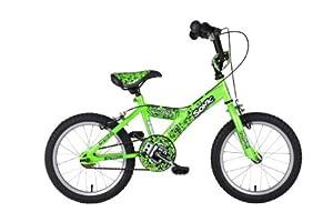Sonic Robotnic Boys Junior Bike - Green, 16 Inch