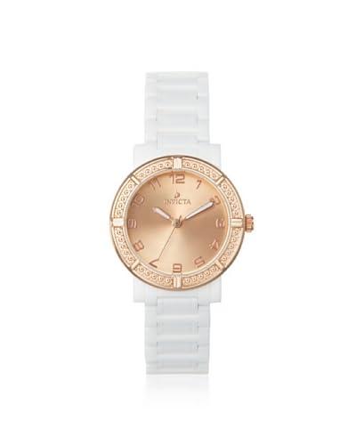 Invicta Women's 14894 Ceramics Rose White Watch