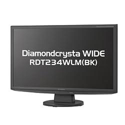 MITSUBISHI 23型ワイド液晶ディスプレイ LEDバックライト RDT234WLM(BK)