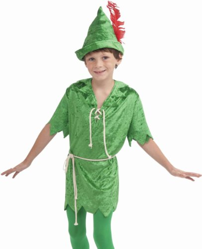 Peter Pan Costume, Child's Medium