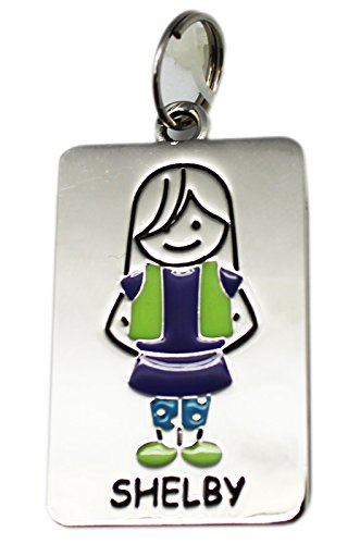 Ganz Kids Tag Charms - My Kids Keyring and Necklace - SHELBY