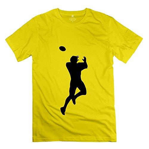 Linyang Men New Style Nfl Football Shirt Size Xxl Yellow