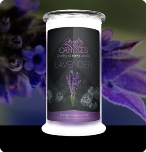 Lavender Jewelry In Candles Candle