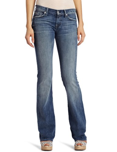 7 For All Mankind Women's Bootcut Jean, Classic Vintage Blue, 32