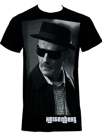 Breaking Bad : Heisenberg Tee-Shirt Homme Sous Licence Officielle