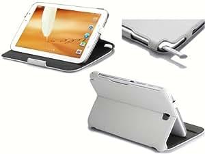 UltraSlim Case Tasche Samsung Galaxy Note 8.0 N5100 3G WiFi N5110 mit Sleep Wake-Up und Standfunktion Schutzhülle Cover in weiß