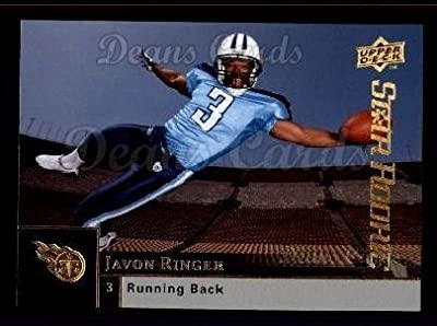 2009 Upper Deck # 256 Javon Ringer Tennessee Titans (Football Card) Dean's Cards 8 - NM/MT