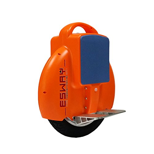 Chargeable Electric Self-Balancing Solo One Wheel Unicycle,Self Balancing Single Wheel Electric Unicycle Scooter With U.S. Charger -Orange