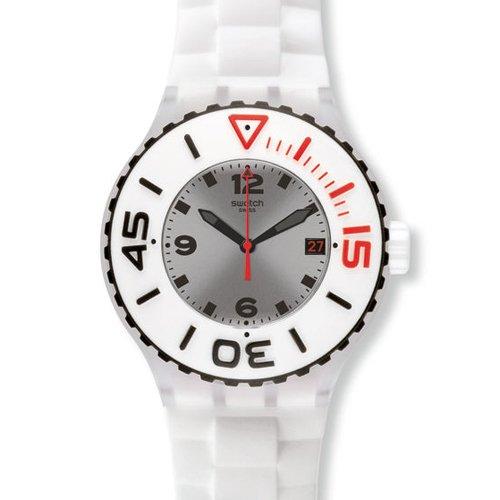 Swatch SUUK401 - Orologio da polso da uomo colore bianco