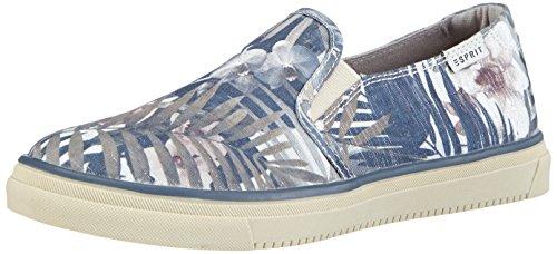 ESPRIT Yendis Jungle, Low-Top Sneaker donna, Blu (Blau (428 shadow blue)), 37