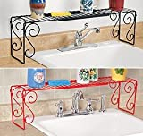 Expandable Over The Sink Shelf - Black