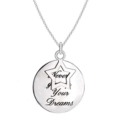 tuscany-silver-sterling-silver-never-give-up-on-your-dreams-star-and-disc-pendant-on-chain-necklace-