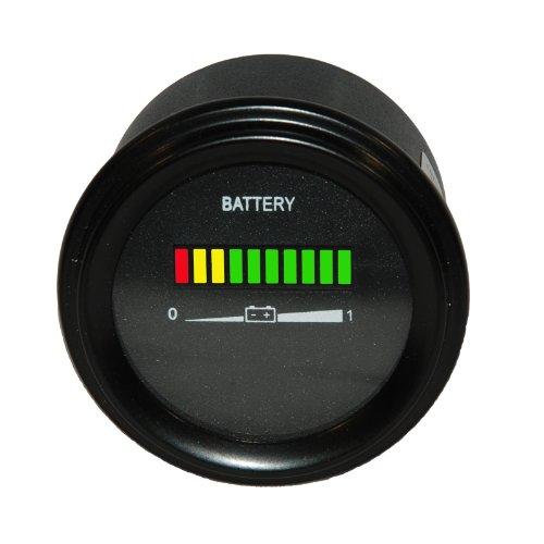 36 Volt Ezgo Battery Indicator  Meter  Gauge