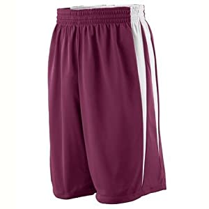 Reversible Wicking Game Basketball Shorts from Augusta Sportswear (3X-Large) by Augusta