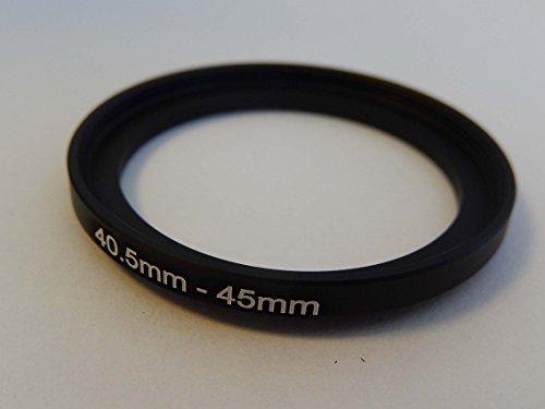 vhbw Step UP Filter-Adapter 40.5mm-45mm schwarz für Kamera Panasonic, Pentax, Ricoh, Samsung, Sigma, Sony, Tamron