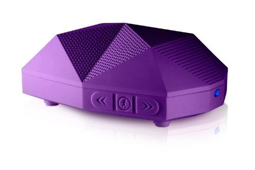 Outdoor Tech Ot-1800 Turtle Shell 2.0 Rugged Water-Resistant Wireless Bluetooth Hi-Fi Speaker (Purple)
