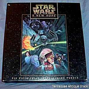 Cheap Milton Bradley Star Wars A New Hope 550 Piece Fully Interlocking Puzzle (B001PZ6DFA)