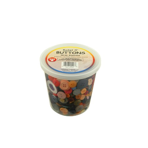 Why Should You Buy Hygloss Products Inc. Asst Buttons 16 Oz Bucket