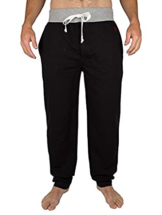 Polo Ralph Lauren - Noir Slim Fit Lounge Bottoms - Homme - Taille: L