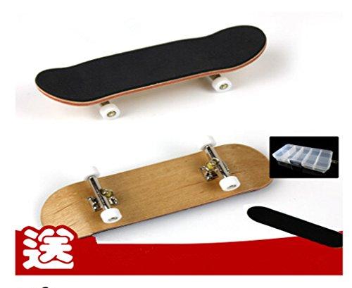 remeehi-professional-maple-wooden-fingerboard-skateboards-metal-nuts-trucks-basic-bearing-white-whee