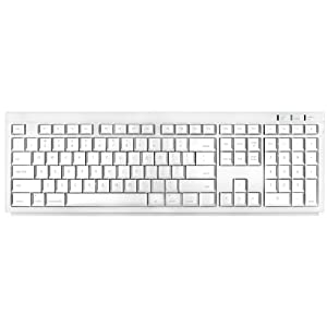 Macally BTKey Wireless Bluetooth Keyboard for Mac (White)