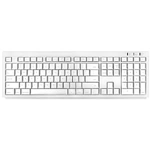 Macally BTKey Wireless Bluetooth Keyboard for Mac (White)