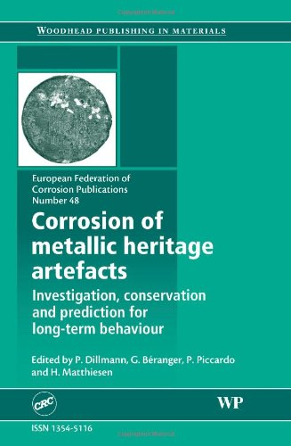 Corrosion Of Metallic Heritage Artefacts: Investigation, Conservation And Prediction Of Long Term Behaviour (European Federation Of Corrosion (Efc) Series)
