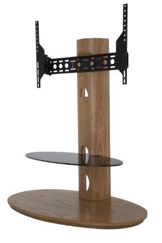 Avf Fsl930Cheo-A Chepstow Combination Tv Stand And Mount - 930 - Oak Color