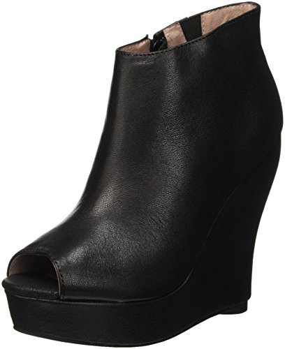 Jeffrey Campbell Tick, Scarpe Con Tacco a Punta Aperta Donna, Nero (Leather Black), 38 EU