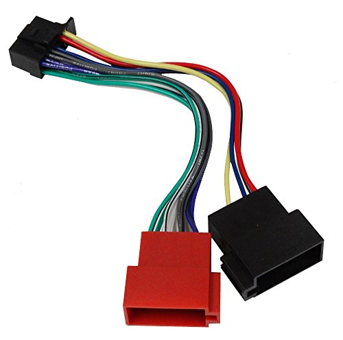 Aerzetix-ISO-Konverter-Adapter-Kabel-Radioadapter-Radio-Kabel-Stecker-ISO-Kabel-Verbindungskabel-fr-SONY-CDX-1000-CDX-7100-CDX-DAB500U-CDX-GT270-CDX-GT470UM-CDX-GT472UM-CDX-GT474UM-MEX-BT3100U-MEX-BT4
