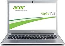 Acer Aspire V5-431-887B4G50Mass 33,6 cm (14 Zoll) Thin & Light Notebook (Intel 887, 1,5GHz, 4GB RAM, 500GB HDD, Intel HD, DVD, Win 8) silber