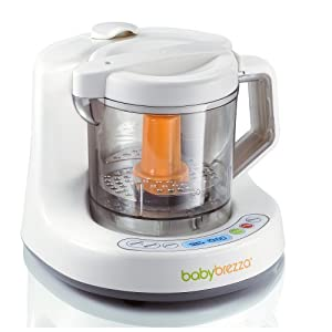 Baby Brezza Elite - One Step Baby Food Maker Processor from Baby Brezza