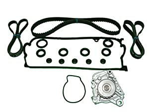 TBK Timing Belt Kit Honda Civic LX DX EX 1.7 2001 to 2005, less tensioner