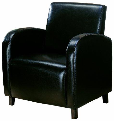 Best Reviews Coaster Vinyl Accent Chair f3000wz