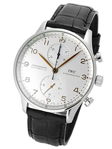 [アイダブリューシー] IWC 腕時計 ポルトギーゼ クロノグラフ IW371401 メンズ [中古品]