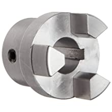 Boston Gear FC155/8 Shaft Coupling Half, FC15 Coupling Size, 0.625 inches Bore, 1-1/32 Thru Bore Length, 1.250 inches Hub Diameter, 6 Max HP at 1750 RPM, 250 Max Torque (LB-IN), Steel