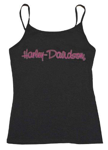 Harley-Davidson® Women's Black Lace Sleeveless Cami. Camisole Tank. 86082