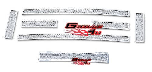Fits 2008-2014 Ford Econoline Van/E-Series Stainless Steel Mesh Grille Grill Combo # F71018T