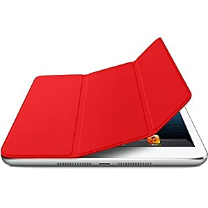 Apple Leather Smart Cover for iPad - Red