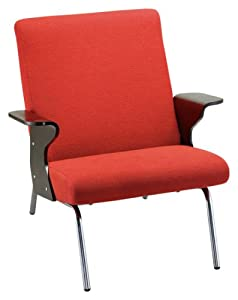 Adesso Paramount Chair, Tomato Red