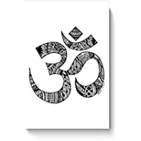 PosterGuy Poster - Zen Om Zentangle Art, Om, Religious, Symbol, Zen, Line Art, Wall Art, Wall Decor, Black, Zen...
