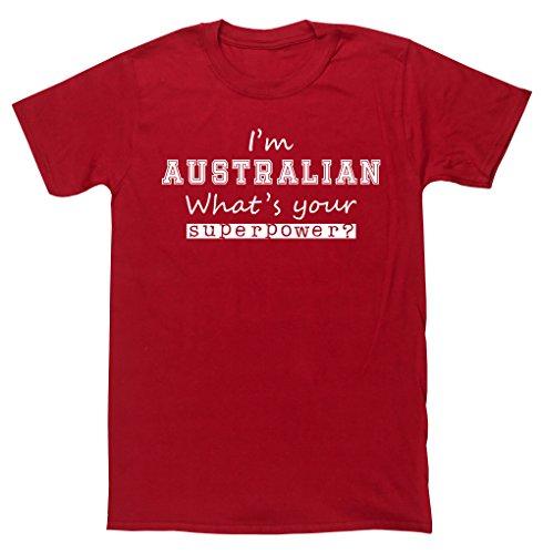 hippowarehouse-camiseta-para-hombre-rojo-rosso-x-large
