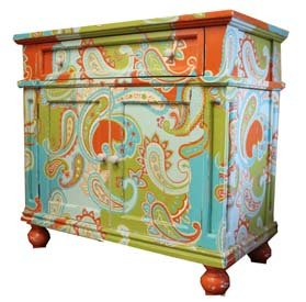 Hand Painted Dresser front-840376