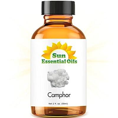 Camphor (2 fl oz) Best Essential Oil - 2 ounces (59ml)