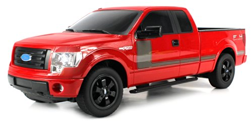Licensed Ford F-150 FX4 Pickup Electric RC Truck Huge 1:10 Scale Gear-Max RTR w/ Bright LED Front/Rear Lights, Spring Suspension, Rubber Tires