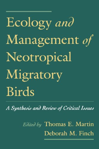 Image for Ecology and Management of Neotropical Migratory Birds: A Synthesis and Review of Critical Issues