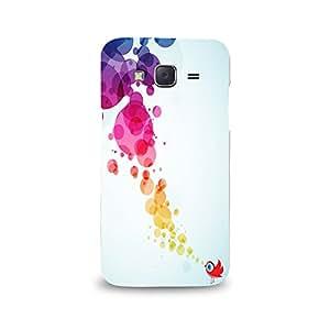 Mikzy Multicolour Printed Designer Back Cover Case for Samsung J5