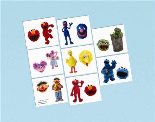 Imagen de Sesame Street Tattoo Favores